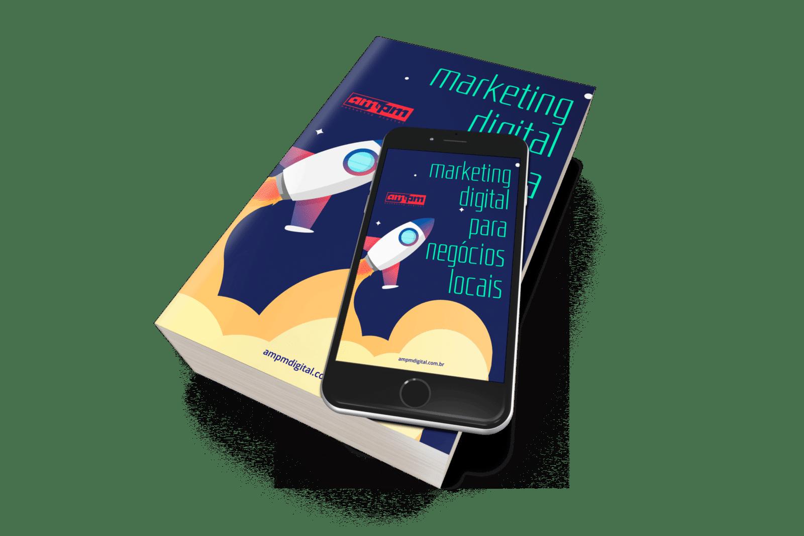 mockup ebook 1 1 - Baixe o Ebook de Marketing Digital para Negócios Locais